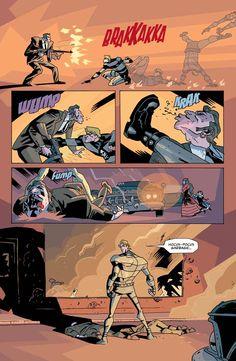 Gabriel Ba / Umbrella Academy Comic Book Pages, Comic Page, Comic Books Art, Book Art, Work Inspiration, Character Inspiration, Gabriel, Fabio Moon, Graphic Novel Art