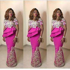 Hottest Aso Ebi Styles For The Lagos Owambe Rockers - DeZango Fashion Zone