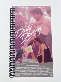 Dirty Dancing - VHS Movie notebook