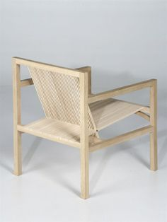 ruud jan kokke / oak and ash chair