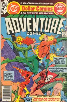 Aquaman - Flash - Deadman - Jim Aparo