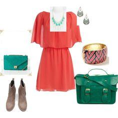 Love the dress ...