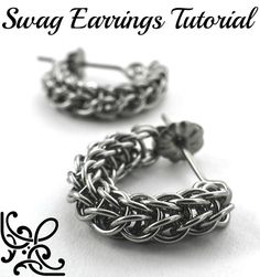 This Swag Full Persian Chainmaille Earring Tutorial will show you instantly how to make these great earrings! My tutorial contains 5 pages of photos and clearly written text, step-by-step, the easiest way to make this challenging chainmaille weave! Download this Instantly!  This link will take you to my Swag Kits: https://www.etsy.com/shop/UnkamenSupplies/search?search_query=swag+kit&order=date_desc&view_type=list&ref=shop_search  I sell my Instructions and Kits separately so that you can…