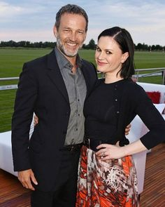 Anna Paquin and Stephen Moyer mingled with royalty when they attended the Audi Polo Challenge 2015 at Cambridge County Polo Club  on July 3, 2015 in Cambridge, England