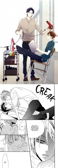 Ogawa chise - Sekai wa Kimi de Mawatteru- Chapter 3 : The false barber manga