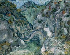 Vincent van Gogh, Ravine, 1889.