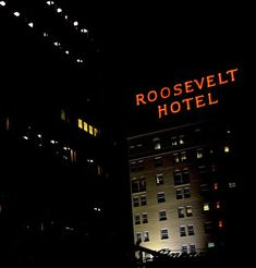 Roosevelt Hotel – Hollywood, Los Angeles. For some close to home hauntings, visit the Roosevelt Hotel in LA. The hotel was a staple of Old Hollywood, and Marilyn Monroe supposedly still visits her favorite room, Suite 1200.