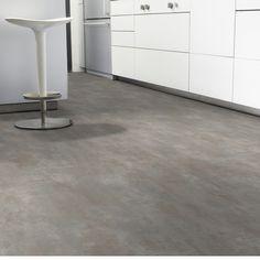 PVC Bodenbelag Tarkett Select 150 | Stromboli Gris Fonce 4m