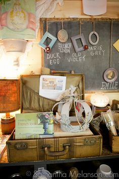 My Annie Sloan Chalk Paint Display by Counting Sheep Antiques, via Flickr