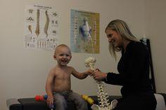 La Dre Isabelle Pouliot, Chiropraticienne en compagnie de mon jeune Nathan, en septembre 2015.