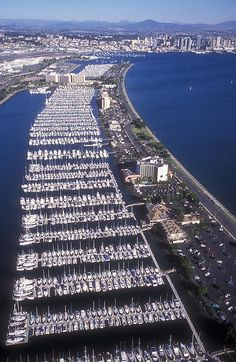 A few boats in San Diego, California.  Go to www.YourTravelVideos.com or just click on photo for home videos and much more on sites like this.
