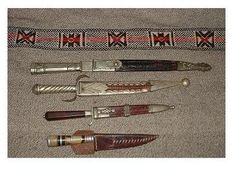 Cuchillos criollos facon daga faca armas blancas paisanos gauchos La Pampa : Museo Federal :: Historia Argentina