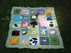 Please 'add note' if you see your Square! by MRS TWINS, via Flickr
