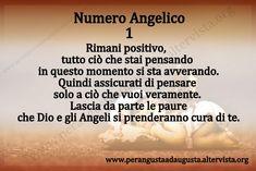 Gli Angeli comunicano con noi in molti modi, uno dei modi più rincorrenti sono i numeri. Ogni numero ha una vibrazione energetica personale e la combinazione di più numeri da come risultato un messaggio specifico; Augusta, Doreen Virtue, Oracle Cards, Words, Movie Posters, Chakra, Zen, Angels, Health