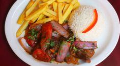 El Perú fue elegido el mejor destino gastronómico de Sudamérica - Y en la pic: Un Lomito Saltado (: