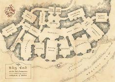 a map.  of a hobbit house!