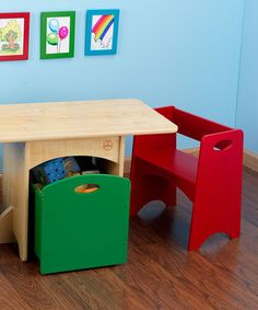 Loving this Primary Table Set on #zulily! #zulilyfinds