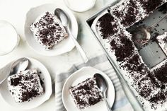 Delicious Oreo Refrigerator Cake No-Bake Recipe - Genius Kitchen