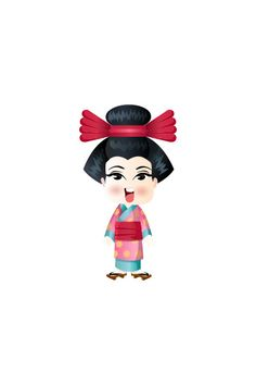 Japanese Girl Vector Image #people #world http://www.vectorvice.com/people-world-vector