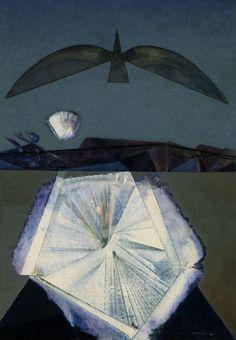 Max Ernst - Après Moi, le Sommeil, 1958                                                                                                                                                                                 More