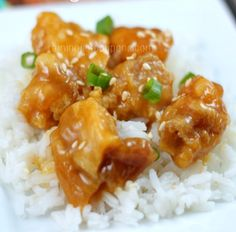 Just Like Panda Express Orange Chicken - It's so easy to make this orange chicken at home!