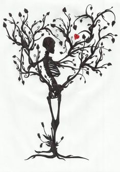 The tree of life by MrPale on deviantART skeleton tree flash art tattoo ~A.R.