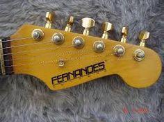 Resultado de imagem para guitarras fernandes