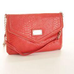 Nine West crossbody purse in coral