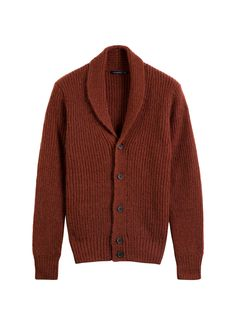 Rust Shawl Collar Sw453   Suitsupply Online Store