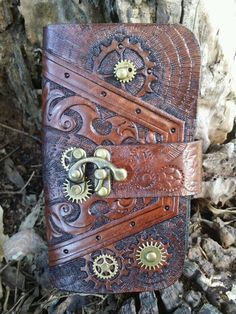 Hand tooled samsung galaxy S4 S3 S5 iphone5 6 4 sony xperia #steampunk