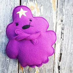 OH MY GLOB! Lumpy Space Princess Plushie, with pattern!