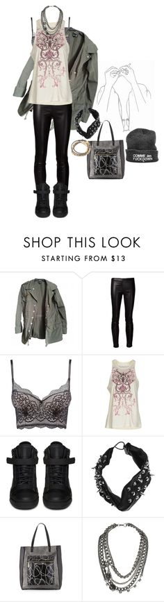 """If We Just Went On"" by applecocaine ❤ liked on Polyvore featuring Topshop, The Row, Charlotte Russe, Balenciaga, Giuseppe Zanotti, Jennifer Behr, L.A.M.B. and Miss Selfridge"