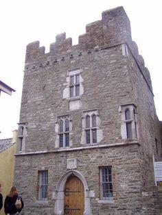 Desmond Castle in Kinsale, Ireland.