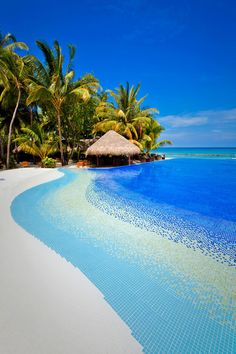 Kuramathi Island Resort in the Maldives--never been there, but it looks beautiful!