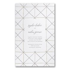 Hand-drawn Lines in Pearl White Wedding Invitation Discount Wedding Invitations, Anniversary Invitations, Letterpress Invitations, Bridal Shower Invitations, Bat Mitzvah Invitations, Graduation Announcements, Bar Mitzvah, Wedding Programs, Save The Date Cards