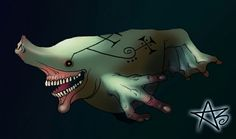 Ambize- Congo myth: a giant fish that has the head of an ox, hands like a human, and pork flavored meat.