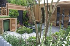 Chelsea 2008 - love the bin cabinet with the green roof.