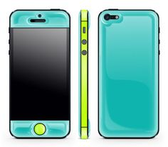 Glowing iPhone Skins