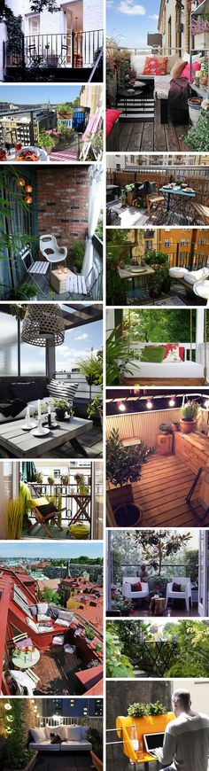 Fifteen Gardening Recommendations On How To Get A Great Backyard Garden Devoid Of Too Much Time Expended On Gardening Small Balcony Inspo From The Fashion Writress Tiny Balcony, Porch And Balcony, Balcony Design, Balcony Garden, Small Balconies, Small Outdoor Spaces, Small Patio, Apartment Balconies, Apartment Patios