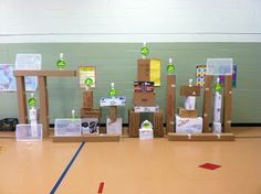 K-6 Physical Education Adventures with Mr. Ginicola!: Life-sized Angry Birds Game/Activity