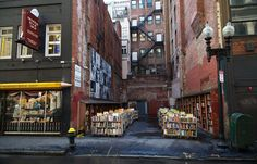 Founded in 1825, the Brattle Book Shop is one of the largest antiquarian book shops in the country. There are unique outdoor bookstalls, as well as three levels of titles to browse through.