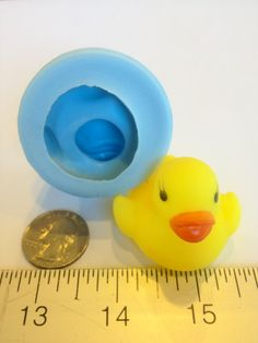 Rubber Duck Silicone Molds  (SMALL)(chocolate, sugarcraft, favor, shower, baby, cake, baking, resin, soap, candle) #301 on Etsy, $7.99
