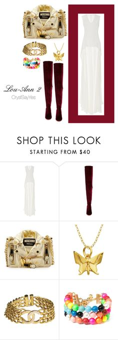 """""""shoot by antho"""" by crystelpi on Polyvore featuring mode, Elizabeth Kennedy, Jeffrey Campbell, Moschino, Lord & Taylor, Chanel et Venessa Arizaga"""