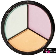 Corrector and Concealer Pallete in Perfectly Coordinated Creamy Colors for Complexion Perfection It Cosmetics Concealer, Best Concealer, Cream Concealer, Contour Makeup, Contouring And Highlighting, Face Makeup, Makeup App, Makeup Brushes, Corrector Palette