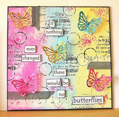 Summer Butterfly Canvas... Nice one from KAth