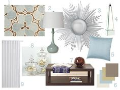 White living room ideas - Love and Marriage Brown And Blue Living Room, Living Room White, Living Rooms, Interior Design Boards, Living Room Flooring, Online Furniture, Living Room Designs, Family Room, Room Decor