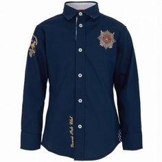 La Martina Navy Guards Shirt - ShopStyle