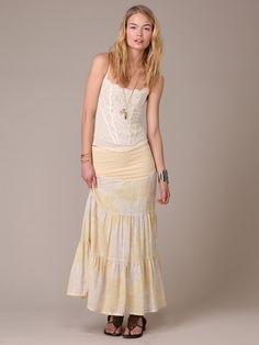 Free People Spring Festival Convertible Skirt, $128.00
