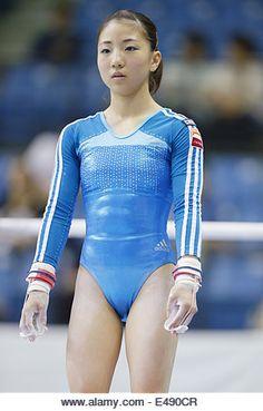 Gymnastics Championships, Gymnastics Photos, Gymnastics Photography, Sport Gymnastics, Artistic Gymnastics, Olympic Gymnastics, Gymnastics Leotards, Japonese Girl, Female Gymnast