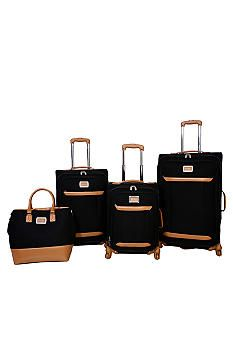 Jessica Simpson Brights Luggage Collection - Black - Belk.com